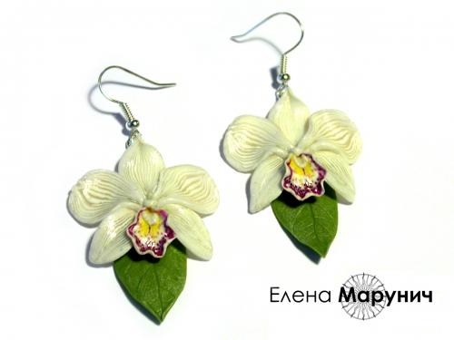 Орхидея своими руками из глины 58
